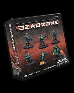 Mantic Deadzone V3. GCPS Recon Squad Starter (shipping 25oct)