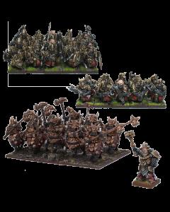 Kings of War Abyssal dwarf starter army