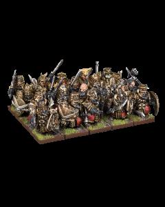 Kings of War Abyssal dwarf blacksouls/ decimator regiment