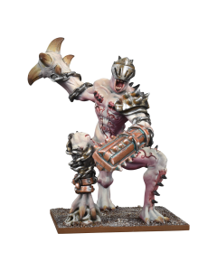 Kings of War Abyssal dwarfgrotesque champion
