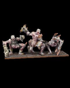 Kings of War Abyssal dwarf grotesque regiment