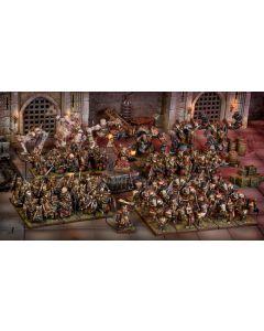 Kings of War Abyssal dwarf mega starter army