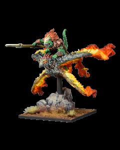 Kings of War Salamander Gekkotah Skylord