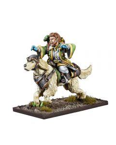 Kings of War Halfling Sauceror on Alarez