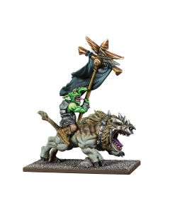 Kings of War Goblin Flaggit on Mawbeast