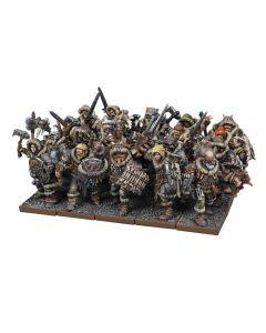 Kings of War Northern Alliance Clansmen Regiment