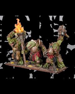 Kings of War Salamander Tyrant regiment