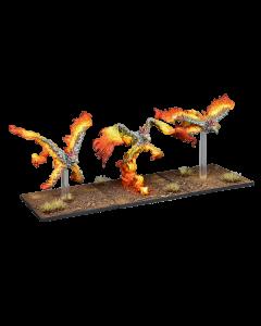 Kings of War Salamander Scorchwing regiment
