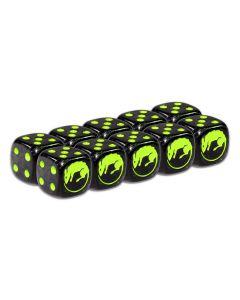 Guildball Blacksmith's guild dice