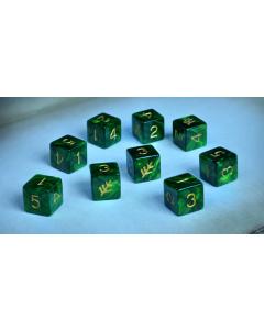 Elder Dice : The Lovecraftian Sign D6 Tube