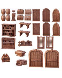 Terraincrate Dungeon essentials