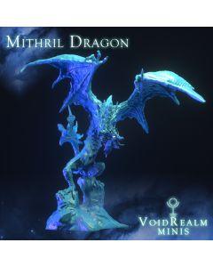 PoD Voidrealm Minis Mithril Dragon