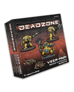 Mantic Deadzone V3. Brood Matriarch Booster (shipping 25oct)