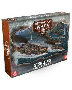 Dystopian Wars: Ning Jing Fleet Starter set