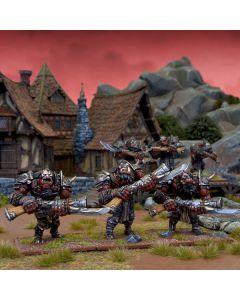 Kings of War Ogre Shooters Horde