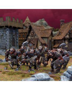 Kings of War Ogre Warriors Horde