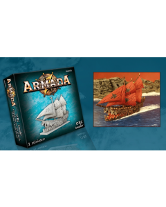 Kings of War Armada Orc Smasher Ship