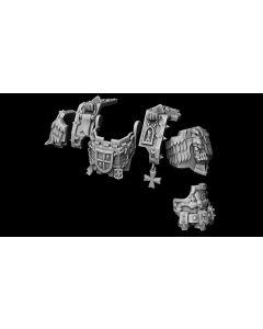 Liber Daemonica Fists Dreadnought conversion set