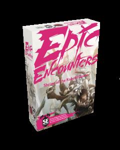 Epic Encounters : Shrine of the Kobold Queen DnD5e Adventure