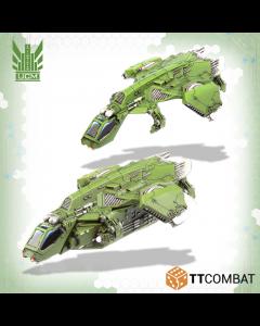 Dropzone Commander Titania Raven Dropship group