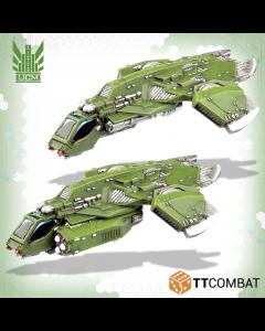 Dropzone Commander Titania Falcon Gunship group