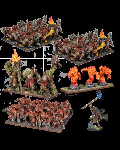 Kings of War Salamander mega starter army