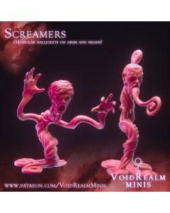 PoD Voidrealm Minis Screamers (4)