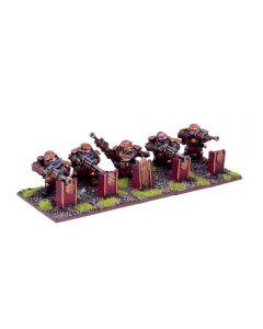 Kings of War Dwarven Sharpshooters troop