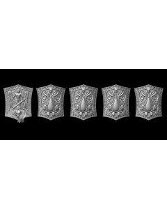 Liber Daemonica Shield set Sanguis (5)