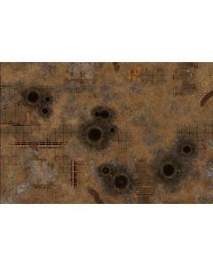 """Gamemat battemat """"Fallout Zone"""" 6x4"""