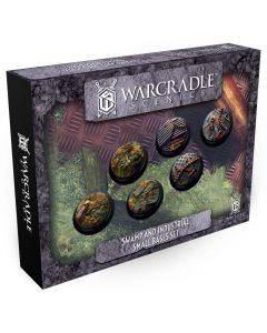 Warcradle Swamp and industrial bases and toppers small (60)