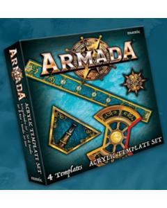 Kings of War Armada Acrylic templates set