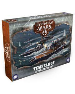Dystopian Wars: Templehof battlefleet set