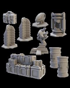 Mantic Deadzone V3. Objectives set (shipping 25oct)
