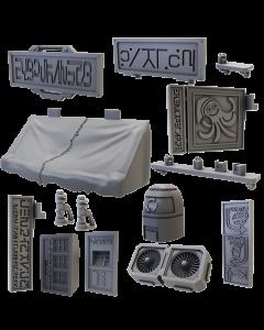 Mantic Deadzone V3. Street Accessories (shipping 25oct)
