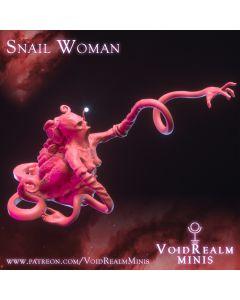 PoD Voidrealm Minis Snail Woman