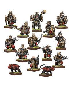 Kings of War Vanguard Abyssal Drwaf Warband