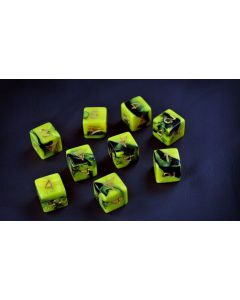 Elder Dice : The Sign of the Yellow King D6 Tube